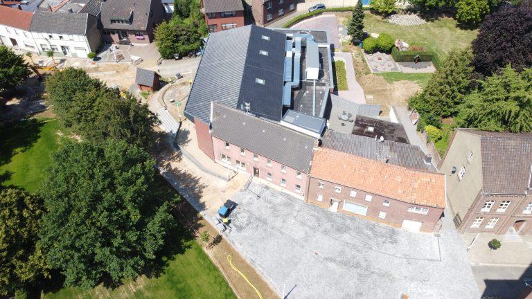 Dorfzentrum Saeffelen Bauarbeiten