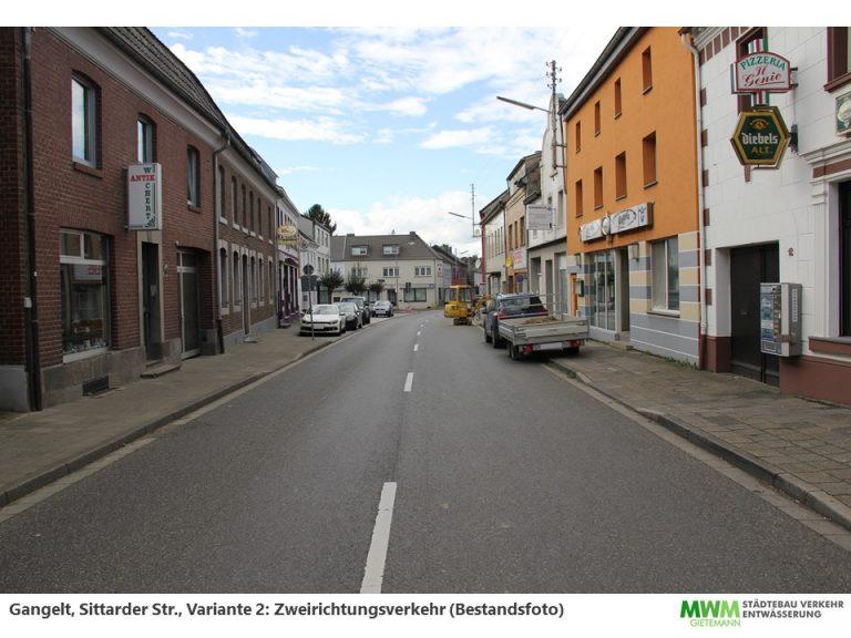 Sittarder Straße  vorher